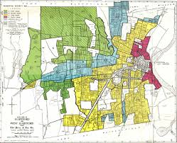 Map Of Boston And Surrounding Area by Federal Lending And Redlining On The Line