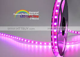 high quality premium multi color led light 7 meters