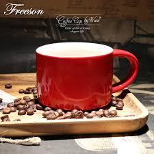 Teh Merah eropa singkat bone china cangkir kopi inggris teh merah bir mug