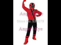 Power Rangers Samurai Halloween Costumes Power Rangers Samurai Red Ranger Mascot Costume Video
