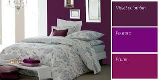 chambre violet et chambre violette et grise dacco grise et violette pour pucette deco