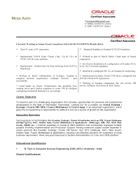Sample Sql Server Dba Resume by Oracle Dba Resume For 4 Year Experience Resume Templates