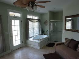 bathroom color schemes gray polished wood floor double vintage