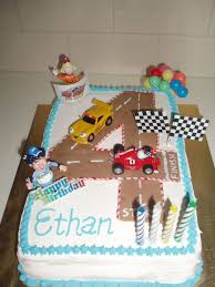 roary racing car birthday cake cakecentral com