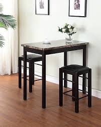 3 piece counter height table set pub table set 3 piece bar stools dining kitchen furniture counter