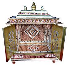 home puja mandir hindu temple extra ordinary meenakari work