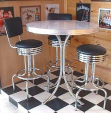 Retro Bar Table American 50s Style Diner Tables To21 Retro Bar Table For And