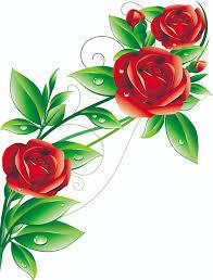 beautiful flowers 02 vector free vector 4vector