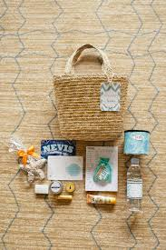Basket For Wedding Programs 10 Best Wedding Welcome Bags Images On Pinterest Wedding Welcome