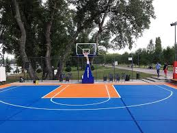 backyard basketball court ideas stencils layouts u0026 dimensions