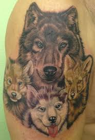wolf cub tattoos cubs and