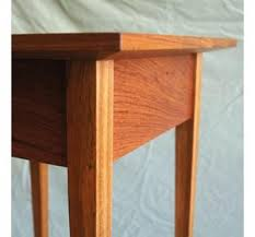 Shaker End Table Handmade Shaker End Tables With Granite Inlay By Natural Mystic