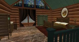 cabin bathroom curtains design and ideas