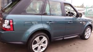 dark silver range rover range rover sport sdv6 hse black finished in marmaris teel at rix