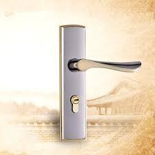 bedroom door lock with key zinc alloy hardware furniture door lock classical handles door for
