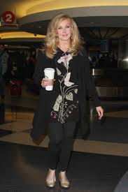 Fairchild Morgan Fairchild Grabs A Cup Of Coffee Abc News