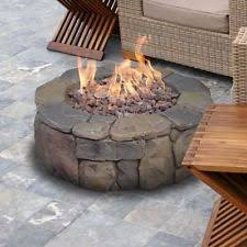 Stone Fire Pit Kit by Petra Gas Firepit 67803a Outdoor Fireplaces Ace Hardware