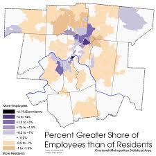 Cincinnati Ohio Zip Code Map by Inner City Neighborhoods Center Of Population Economic Power In