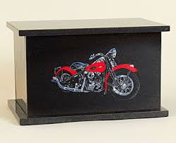 motorcycle urns harley motorcycle black granite cremation urn made in vermont