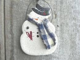 10 best photos of salt dough snowman footprint ornament foot
