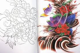 tattoo flower drawings list of synonyms and antonyms of the word japanese flower drawings
