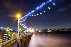 manhattan beach pier lighting 2017 manhattan beach to purchase street lights make them greener local
