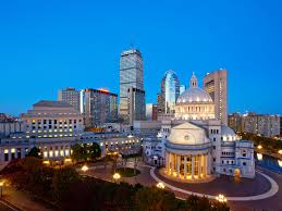 Copley Square Boston Map by Hotels In Downtown Boston Ma Sheraton Boston Hotel