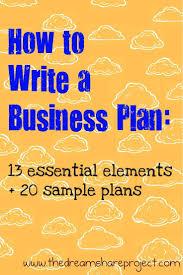 best 25 sample business plan ideas on pinterest business plan