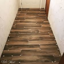 porcelain wood look tile floor hometalk