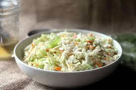 classic vinegar based coleslaw no mayo blackberry