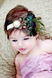 feather headbands 34 best feather headbands for babies images on feather