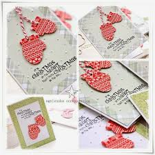 82 best cards christmas stockings mittens images on pinterest