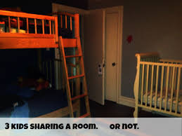 3 Kid Bunk Bed Night One Operation Three Kids Sharing A Room Rookie Moms