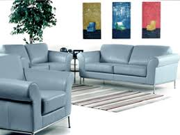 Leather Blue Sofa All Leather Sofa And Blue With Chrome Legs