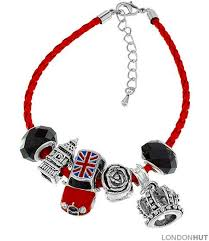 braided leather charm bracelet images Red faux leather charm bracelet with union jack mini cooper jpg