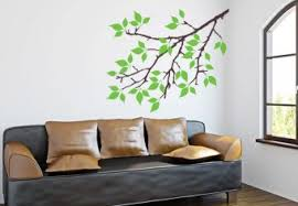 flowers and trees wall decals home decor shop tree decal and
