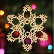 111 best and some tatted snowflakes and ornaments images on