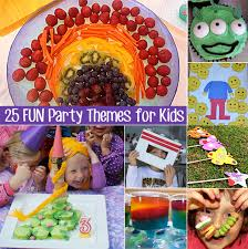 party themes 25 kids party themes for children 6 years and