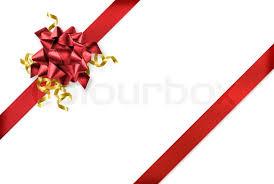 gift wrap ribbon diagonal and gold gift wrap ribbon on white background stock