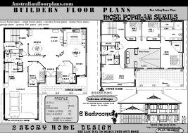 House Plans With Marvelous Two Story 6 Bedroom House Plans 26 For Your Best