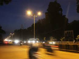 who to call when street lights are out gurgaon eesl to replace 50 000 conventional street lights with led