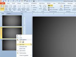 custom design layout powerpoint how to insert a custom layout every time i insert a new slide in