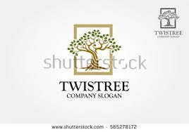 tree logo design free vector stock graphics images