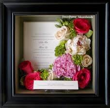 Flower Preservation Frame Your Wedding Flowers Wedding Flower Preservation