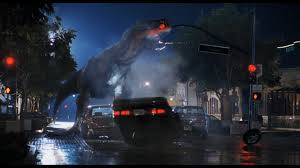 jurassic park car trex in defence of the lost world jurassic park