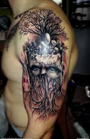 tree man tattoo by sandra tattoo artists org