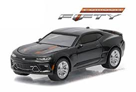 grey camaro amazon com 1 64 greenlight 50th anniversary series 3