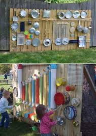 13 outdoor music walls that will embellish your child friendly