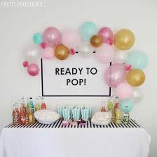 baby showers baby shower ideas best 25 ba shower balloons ideas on ba