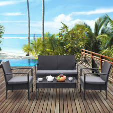 Wicker Outdoor Furniture Ebay by Rattan Outdoor Patio Furniture Ebay